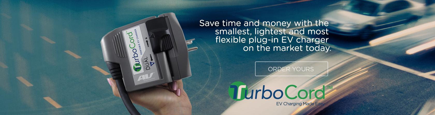 TurboCord | Smallest, Lightest & Most Flexible EV Charger